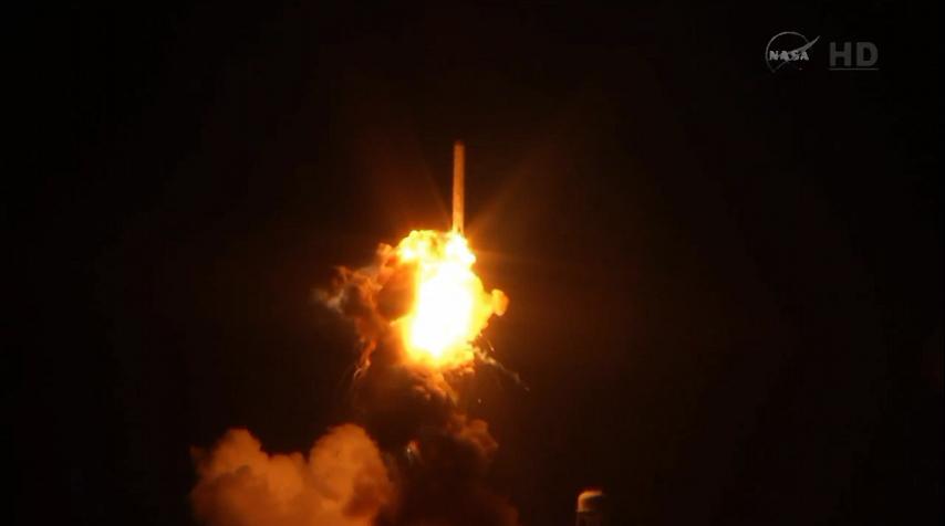 Lancement Antares - Cygnus (Orb.3) - 28 octobre 2014. [Echec] - Page 5 Explosion%20%289%29